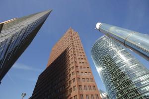 Futuristic Skyscrapers in Berlin, Germany