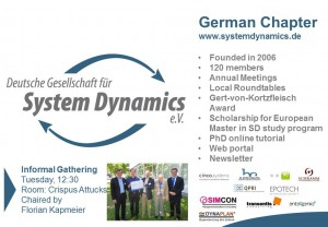 GermanChapter ePoster ISDC 2015